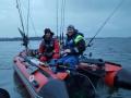 Zusammen angeln