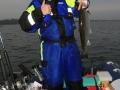 67´er Meerforelle am Downrigger in 11m Tiefe gebissen