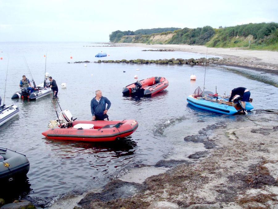 Schlauchbootanglertreffen Baltic-Fishing
