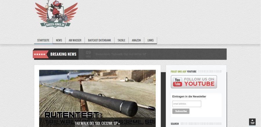 Screenshot von Barsch-Junkie