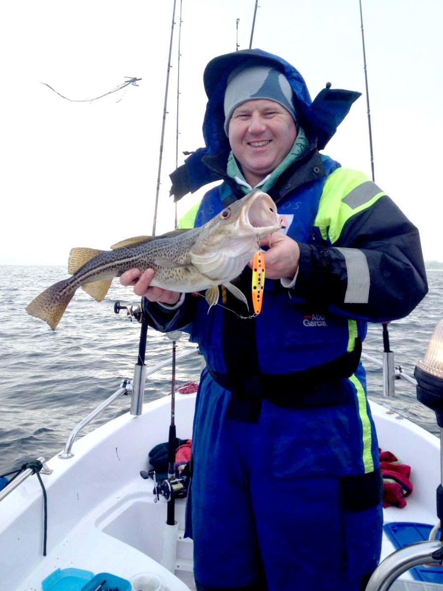 Baltic-Fisher mit gutem Dorsch